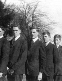 Cecil, Ray, Wilbur, Grant, George, Charlie, Dougall Janes
